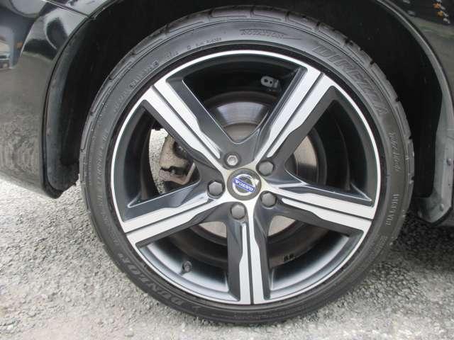 タイヤは昨年交換したばかりです。