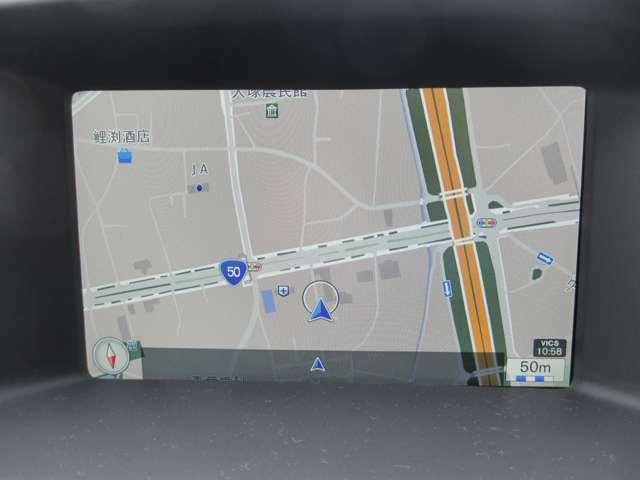 7インチミュージックサーバー付HDDナビ搭載。マップケア(地図更新無料)