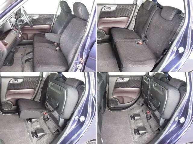 チップアップ&ダイブダウン機構付【ULTR SEAT】は後席座面を左右分割で跳ね上げることができます。トランクで積載できない背の高い荷物をラクラク収納できます。ホンダ車ならではの人気装備です。