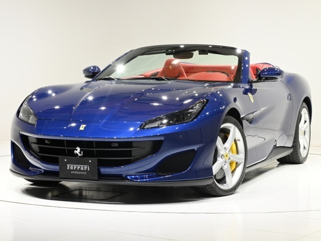 CORNES芝ショールーム ポルトフィーノ入荷のご案内です。【FerrariAPPROVED】認定中古車 LEDハンドル ワンオーナー