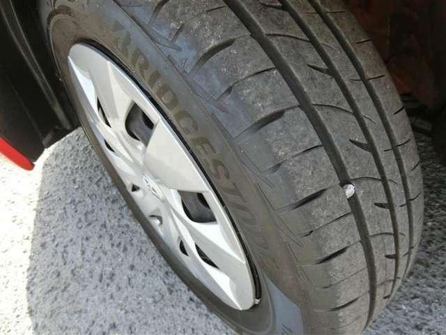 【タイヤの溝】溝も十分残っているので、すぐに交換の必要はありません!