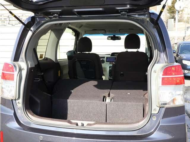 【シート収納】・・・シートを収納すればこんなに大きなスペースが♪ 大きな荷物も楽々OKです! お問い合わせはフリーダイヤル 0078-6002-734563 までお電話下さい!