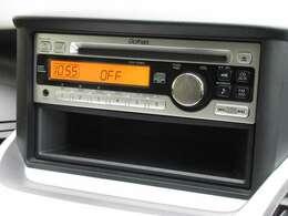 オデッセイに付いているギャザズCDコンポ(CX-128C)はCDプレーヤー・AM/FMチューナー付です。お好みの音楽を聞きながらのドライブは楽しさ倍増ですね!