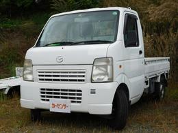 マツダ スクラムトラック 660 KC スペシャル 3方開 エアコン パワステ オートマ車