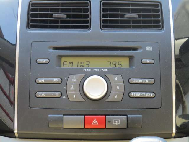 FM/AMラジオ CDオーディオ