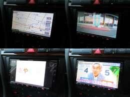 社外ナビが装備されております♪バックカメラもついており画面もクリアで運転中も確認しやすいです♪フルセグTVやDVDの視聴もお楽しみ頂けます♪Bluetooth接続もできるので車内にいても快適にお過ごし頂けます♪