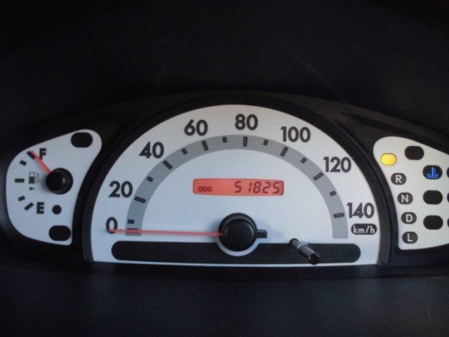 現在レンタカーとして使用中の為距離は変動します。走行51,825キロです。
