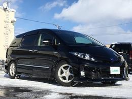 トヨタ エスティマハイブリッド 2.4 アエラス 4WD 寒冷地仕様 夏冬タイヤ フリップダウン ETC