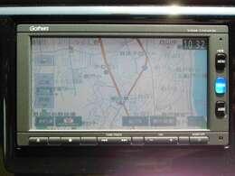 ナビの画像です。Bluetooh接続可能で、車内でお気に入りの音楽が聞けます。