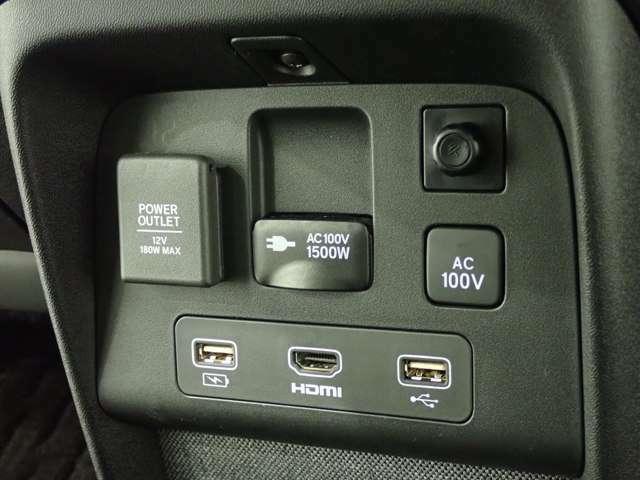 Honda e Advanceにはさまざまな電化製品を使用できるAC電源を装備しています。