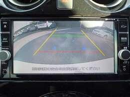 車庫入れや駐車時に大活躍のバックビューモニター