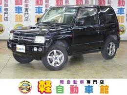 三菱 パジェロミニ 660 アクティブフィールド エディション 4WD ターボ ワンセグTV・HDDナビ ABS
