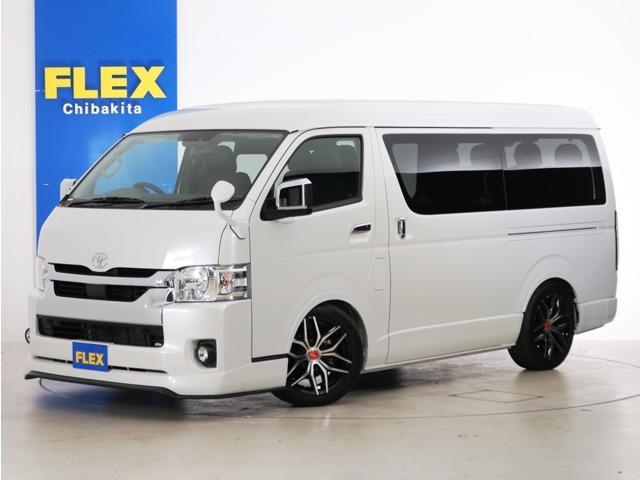 新車未登録 ハイエースワゴンGL ガソリン2WD FLEXオリジナル内装アレンジ【Ver1.5】!