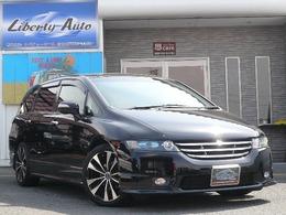ホンダ オデッセイ 2.4 M エアロ HDDナビスペシャルエディション 18AW車高調マフラーナビETCキーレス