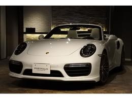 ポルシェ 911カブリオレ ターボ PDK 正規ディーラー車/左ハンドル/スポクロ