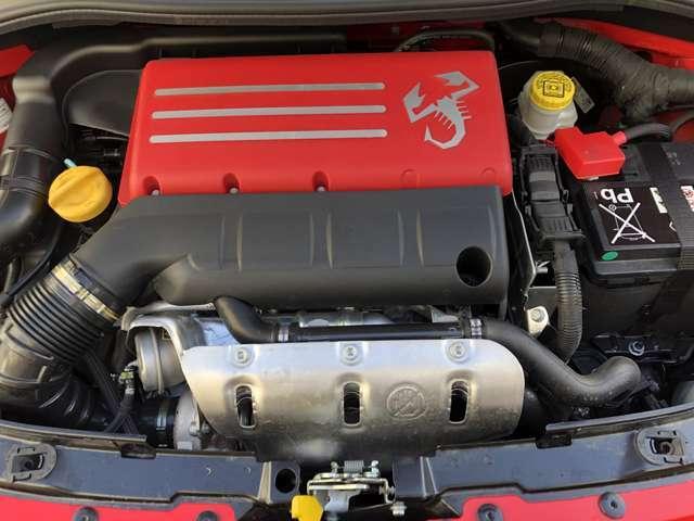 1.4リッター直列4気筒DOHC16バルブICターボエンジン