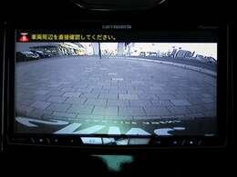バックカメラも装備しておりますので、駐車時も安心です。