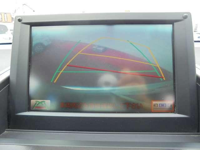見えにくい後方部もカメラの目でサポートが受けられます