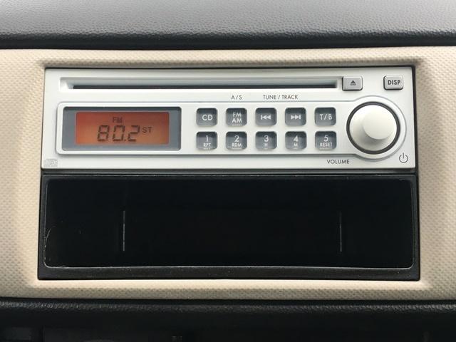 純正CDオーディオ!ラジオも楽しめます♪