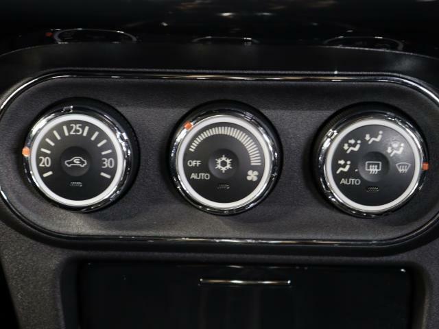 オートエアコンで、いつでも快適な温度設定ができます!