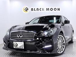 日産 フーガ 2.5 250GT 黒半革 新品センスブランドエアロ 社外AW