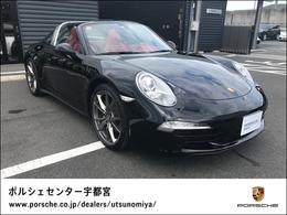 ポルシェ 911 タルガ4 PDK 認定中古車保証 レザーインテリア