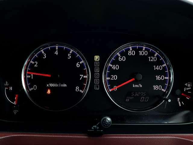 【メーター】現在の走行距離は53,275kmでございます。