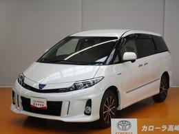 トヨタ エスティマハイブリッド 2.4 アエラス 4WD HDDナビ 後席モニター