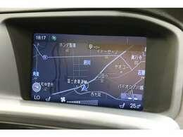 初めての土地でも安心ドライブ!ナビゲーションシステム搭載!