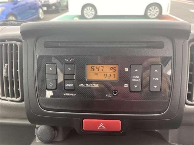 純正ラジオ付きです。