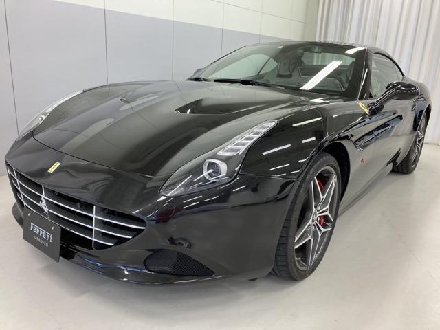 Nero Daytona(ブラックメタリック)のCalifornia T入庫いたしました。内装はスペシャルカラー:Grigio Chiaroでございます。