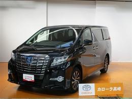 トヨタ アルファードハイブリッド 2.4 SR 4WD Tコネクトナビ フTV 電動シート