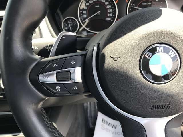 ステアリングサポート付きアクティブクルーズコントロールには前車追随機能付きで、安全に楽々運転。