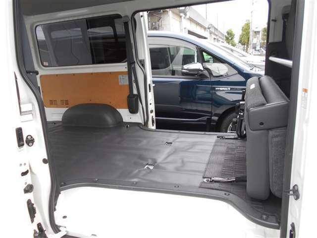 スライドドアです!狭いスペ-スでも、隣の車を気にせずに開閉できます!どんな場所でもドアを十分に大きく開くことが出来ますので、乗り降りやお荷物の出し入れにとても便利です!