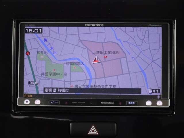 カロッツェリア AVIC-MRZ099 とっても使い易いメモリーナビ付きです。フルセグTV+DVDが視聴できます。