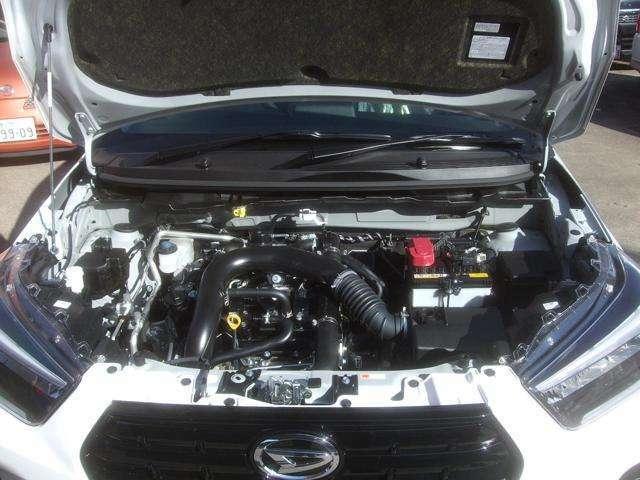 1000CCターボエンジン 4WD