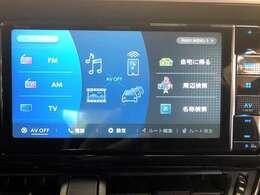 カロッツェリア地デジフルセグTVナビゲーション(Bluetooth/DVD再生 CD録音/CD/etc...) 連動バックカメラ、ETCの3点セットのプランとなります。走行中のナビ操作やTV視聴も可能です。