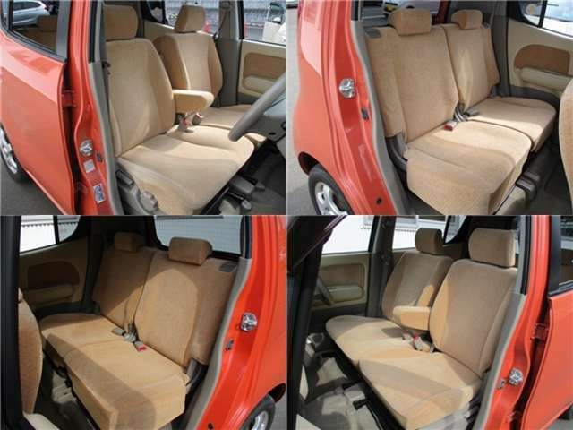 ■内装■車内はベージュを基調としていますので落ち着いた雰囲気を味わうことができます。