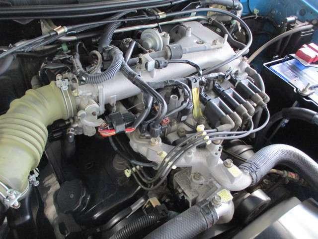3500cc 自然吸気ガソリンエンジンです。原動機の型式:6G74
