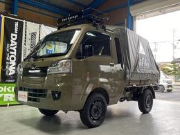 ダイハツ ハイゼットトラック 660 ジャンボ SAIIIt 3方開 4WD ナビ リフトアップ キャンパー仕様