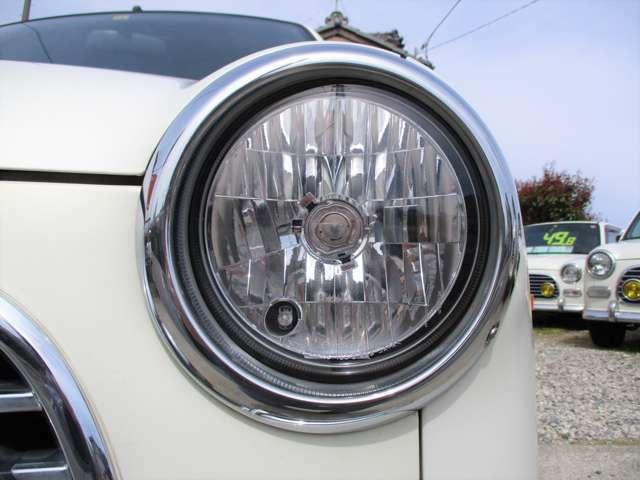 ◆ガラス製のヘッドライトです♪メンテナンスしやすいお車で御座います♪BRIDGE GATE 【ブリッジ・ゲート】無料ダイヤル 0066-9706-2357まで、お気軽にお問い合わせくださいませ。