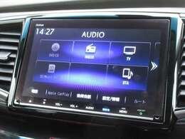 ギャザズ9インチメモリーナビ(VXM-207VFNi)を装着しております。AM、FM、CD、DVD再生、Bluetooth、音楽録音再生、フルセグTVがご使用いただけます。初めて訪れた場所でも道に迷わず安心ですね!