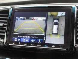 マルチビューカメラシステムのカメラ映像を解析して駐車枠を自動検出し、ステアリングをEPSのモーターで適切に作動させて駐車時の運転操作をサポート。スムーズな駐車が行えます。