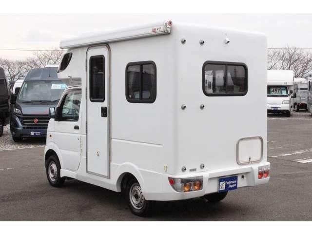 軽キャンピングカー・バンコン・キャブコン・バスコン等様々な車種を取り扱っております!