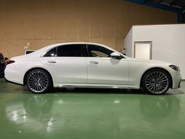 令和3年式メルセデス・ベンツS500 4マチックロングファーストエディションAMGライン4WD リアコンフォートパッケージ 限定540台 走行2480キロ 人気のダイヤモンドホワイト