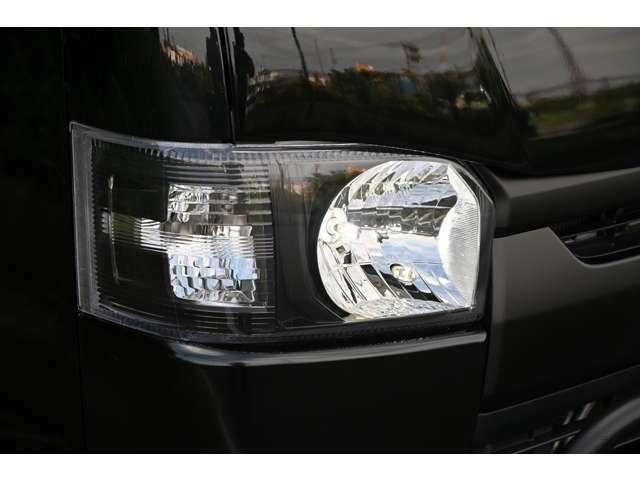 LEDヘッドライトインナーブラック加工済み!LEDポジション・ステルスウィンカー