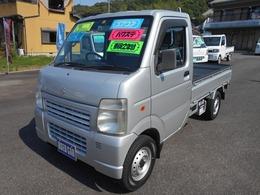 スズキ キャリイ 660 KU エアコン・パワステ 3方開 35000Km BT&タイヤ新品 荷台マット