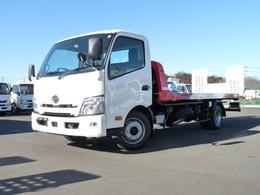 日野自動車 デュトロ 極東製フラトップゼロII・3t積載車・VSC PCS(歩行者検知)・LDWS