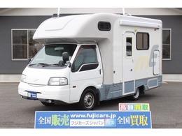 日産 バネットトラック ナッツRV マッシュ タイプW 二段ベッド リアWタイヤ新品 FFヒーター 冷蔵庫