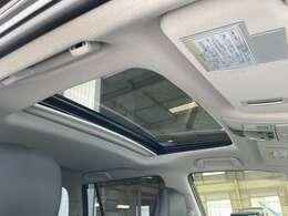 ◆サンルーフ【開放感溢れるサンルーフ!!車内も明るくて快適です。】